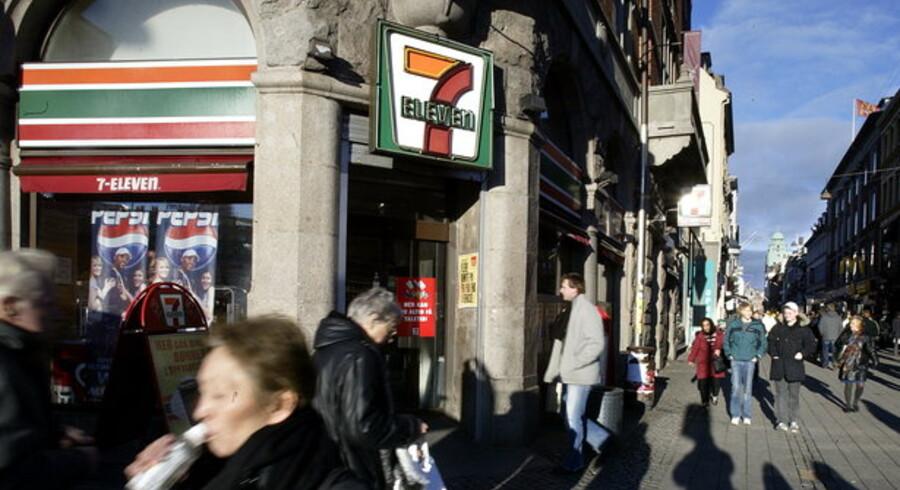 Kunderne stikker af fra 7-Elevens 130 butikker.