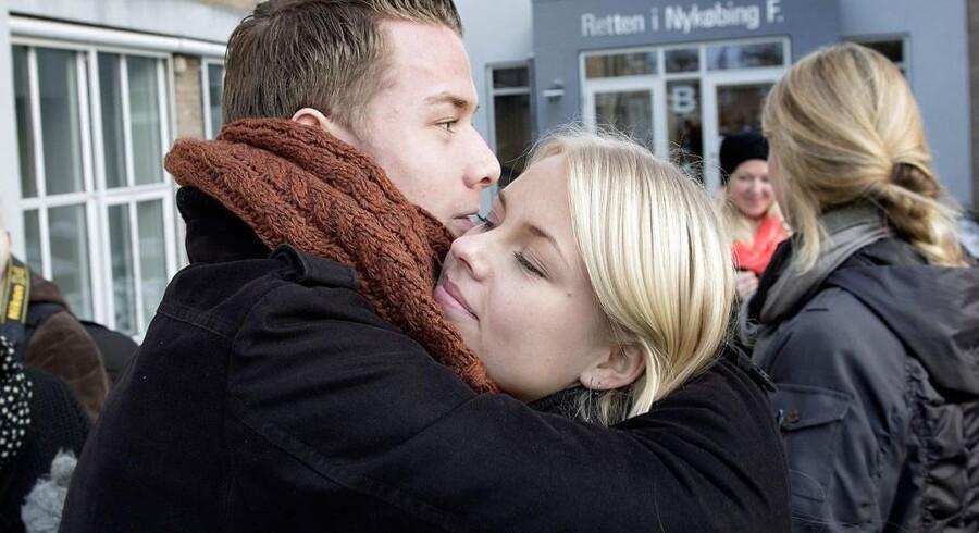Karoline Sofie Haarby Klit og Niclas Bøhm var blandt de 13 elever der sammen med to lærere forliste med en dragebåd.