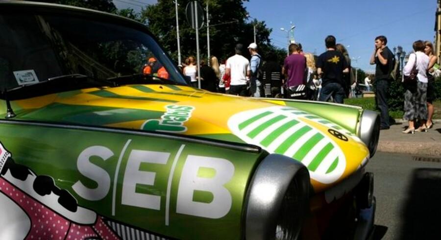 Den svenske storbank SEB tjente knap 450 mio. kr. i Danmark i årets første seks måneder.