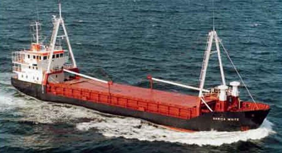 Danica White blev kapret af pirater i 2007.