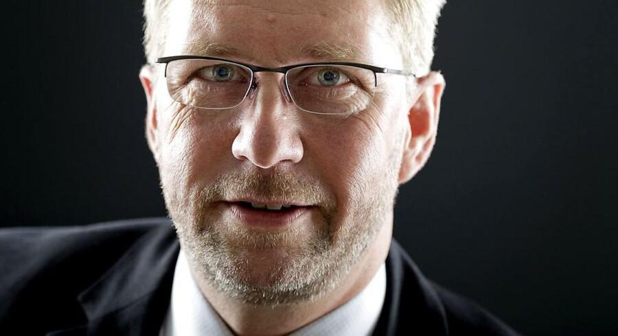 Lars Frederiksen, snart forhenværende adm. direktør i ingrediensfirmaet Chr. Hansen.