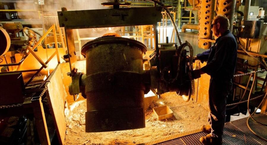 Jernstøberier og andre energislugende virksomheder slipper billigere fremover.