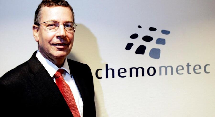 Claus Resen Steenstrup, administrerende direktør i Chemometec.