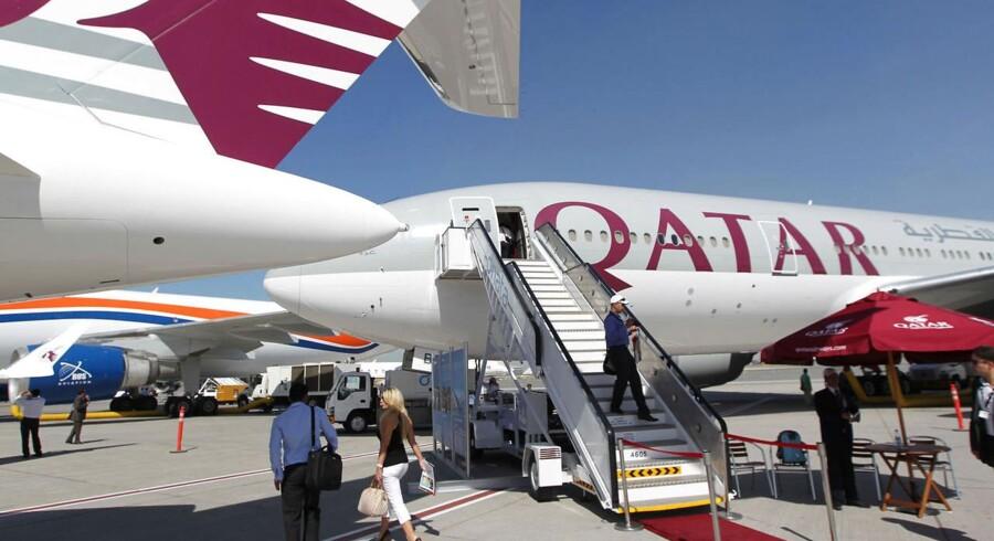 Mere end hver anden afgang med Qatar Airways' afgang til Doha med rute QR085 er forsinket.