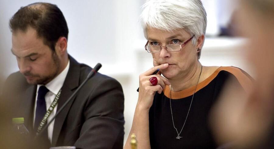Annette Vilhelmsen til samråd om Zornig-støtte.
