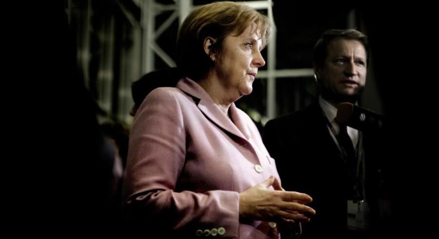 Angela Merkel og resten af Tyskland redder Europa fra en recession