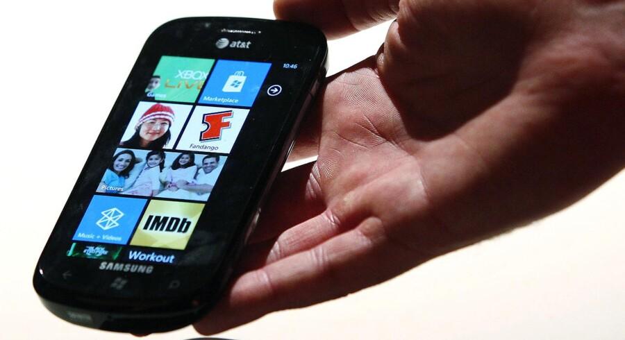 Designmæssigt er WP7-mobilerne et frisk pust, men forbrugerne har ikke taget dem til sig.