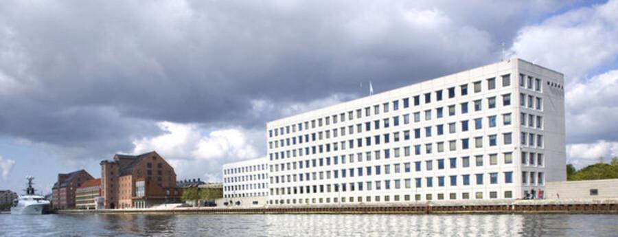 A.P. Møller-Mærsks hovedkvarter på Esplanaden i København.