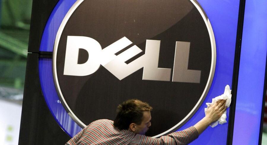 Dell mærker fortsat den vigende interesse for PCer. Arkivfoto: Thomas Peter, Reuters/Scanpix