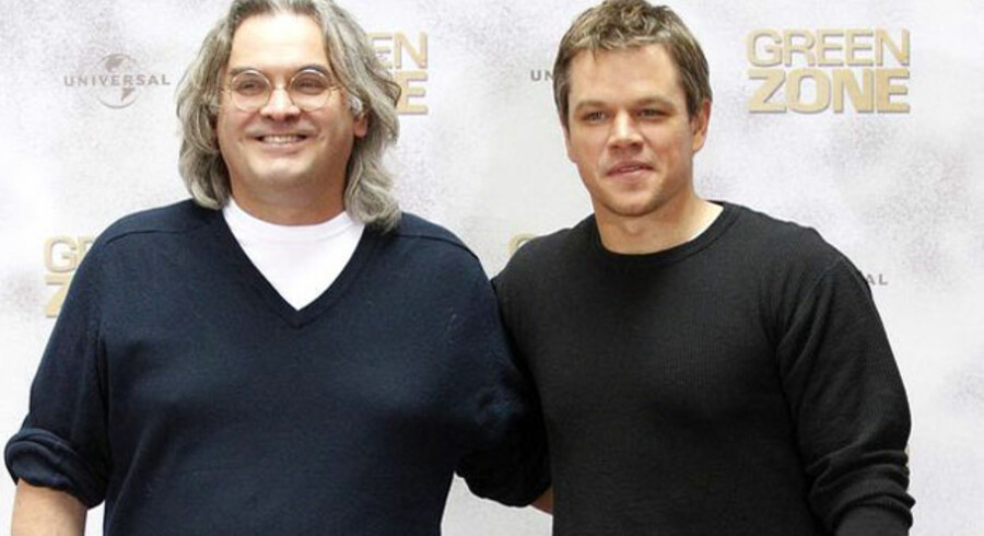Paul Greengrass og Matt Damon