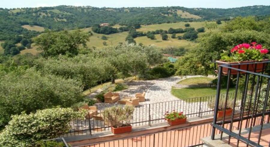 Bodil Bechmann er forelsket i Toscana og tilbyder ophold på f.eks. Antico di Scansona i det sydlige Toscana.