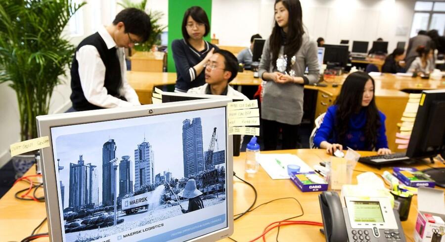 Mærsks logistikselskab Damco har i forvejen kontor i Chengdu i Kina.