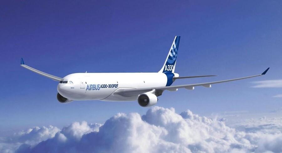Kina truer med at droppe en ordre på Airbus A330 til en værdi af 68,2 milliarder kroner.