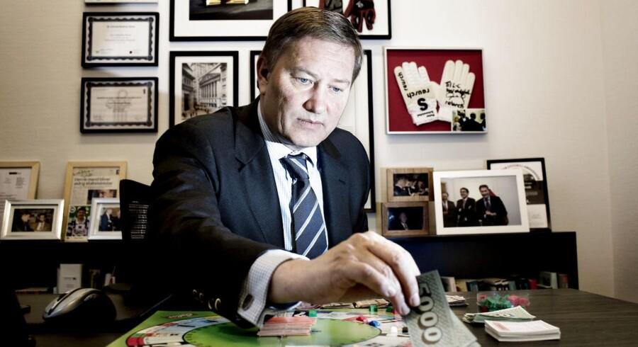 Finansmanden Lars-Christian Brask vil i sin nye stilling udfordre Danske Bank og Nordea.