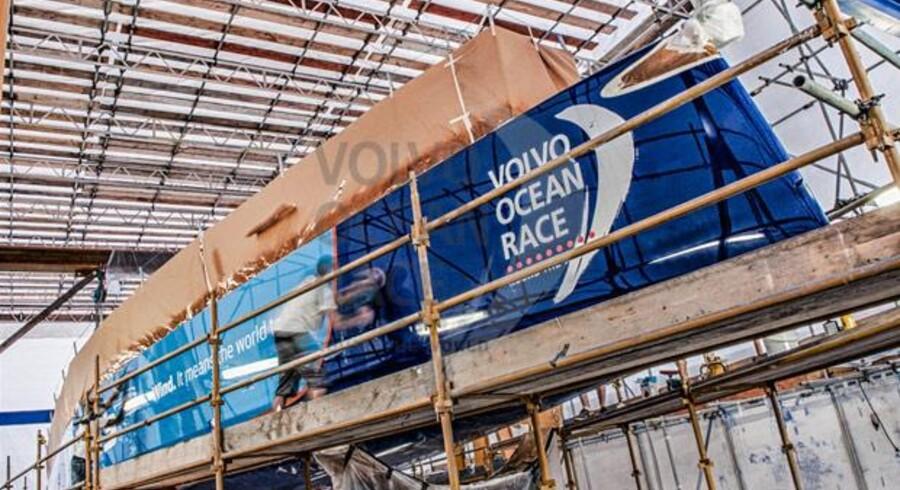 Der arbejdes på at gøre Team Vestas Wind klar til Volvo Ocean Race