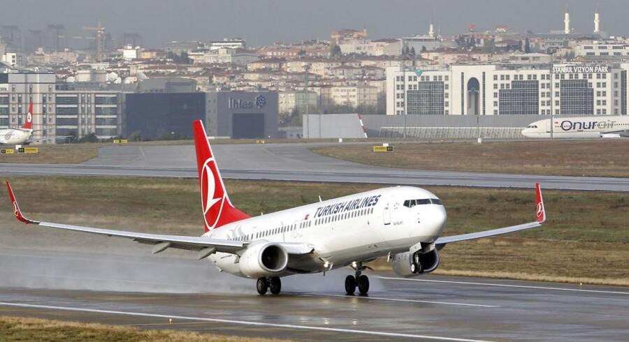 Atatürk lufthavnen nær Istanbul får selskab af verdens største lufthavn, som Tyrkiets transportminister løftede sløret for i går,