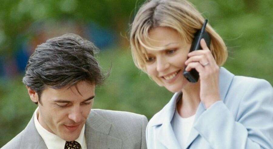 Det er ikke sikkert, at det kan betale sig for dig at få telefonen betalt af arbejdsgiveren.