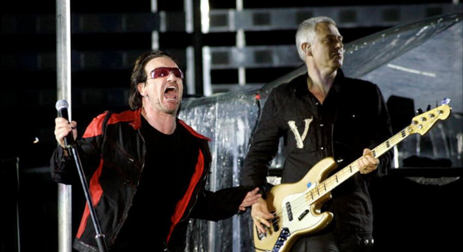 Finanskrisen rammer nu også U2.