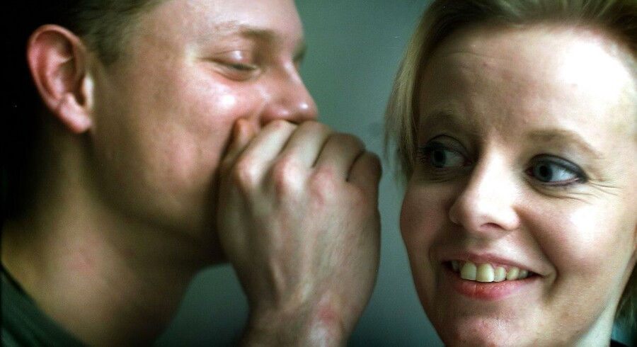 De færreste har lyst til at blive samtaleemnet på job - heller ikke psykisk syge. Modelfoto: Anett Bruhn
