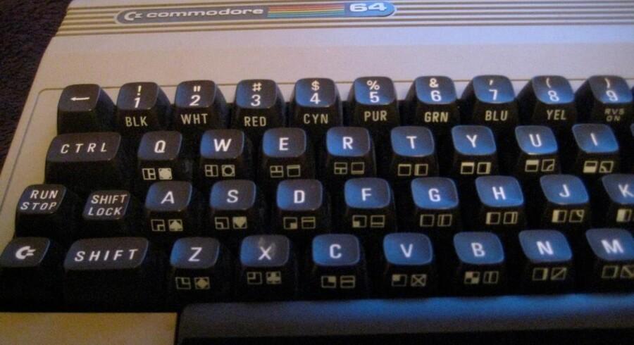 Commodore 64 - eller brødkassen, som øgenavnet lød på grund af computerens bastante udseende.