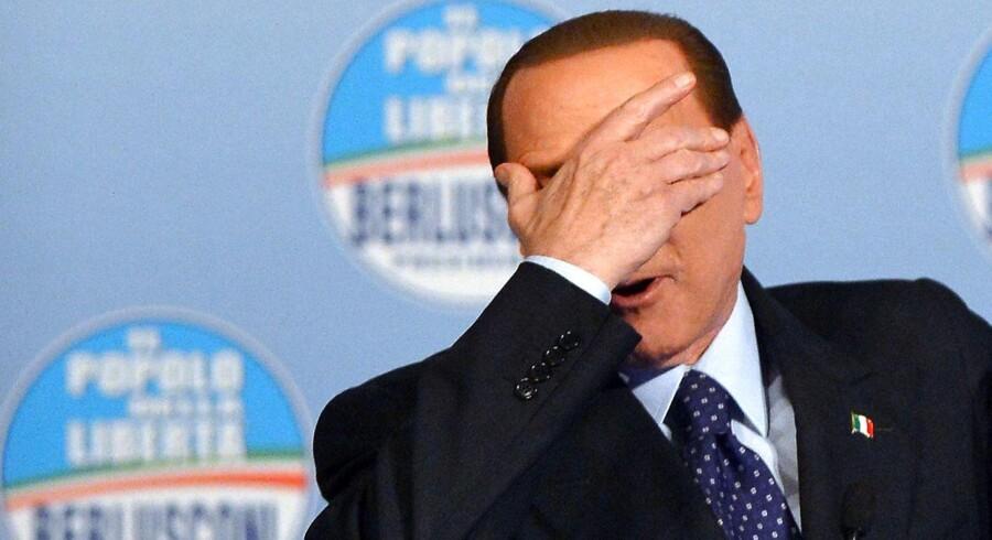 Silvio Berlusconi stiller op til parlamentsvalget i februar.