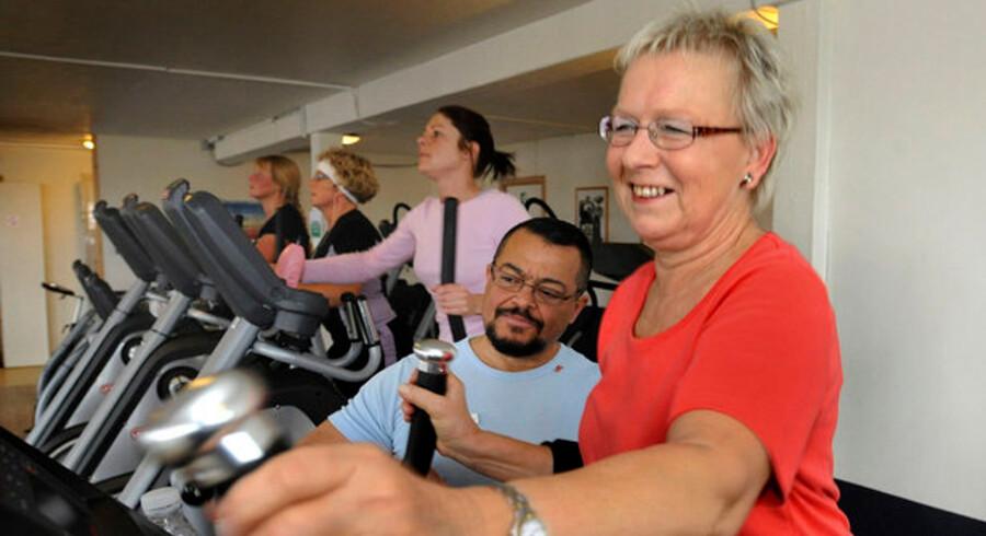 Odense Kommune sender de ledige til fitness. For 59-årige Lisbeth, der ellers aldrig havde dyrket motion, betød det, at hun fik energi til at søge job. I dag arbejder hun I Bilka.