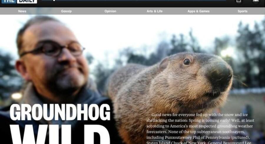 Rupert Murdochs iPad-avis, The Daily, er oppe at køre - og den er noget af en kraftanstrengelse.