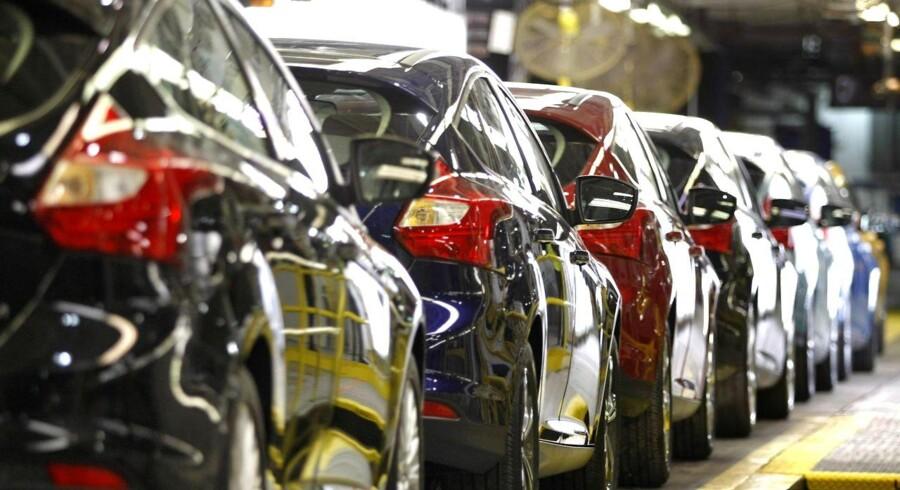 Der sælges flere små biler, og vi passer bedre på dem.