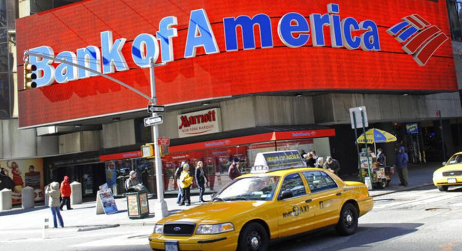 Regnskabet fra USAs største bank, Bank of America, er bedre end ventet.