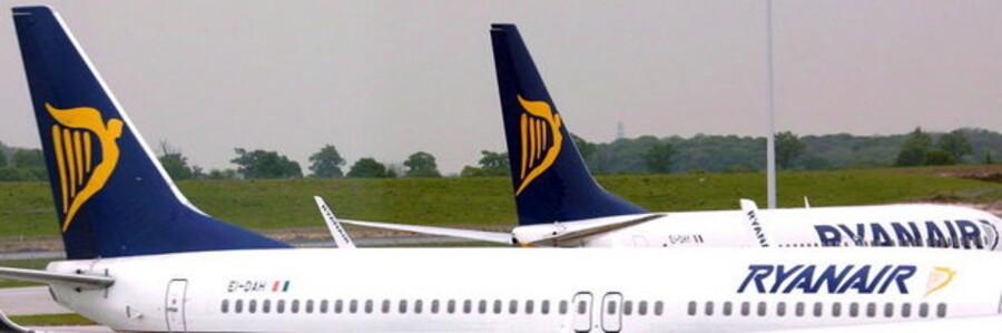 Lavprisflyselskabet Ryanair levede et resultat for første kvartal i år, der var over seks gange højere end 1. kvartal sidste år.