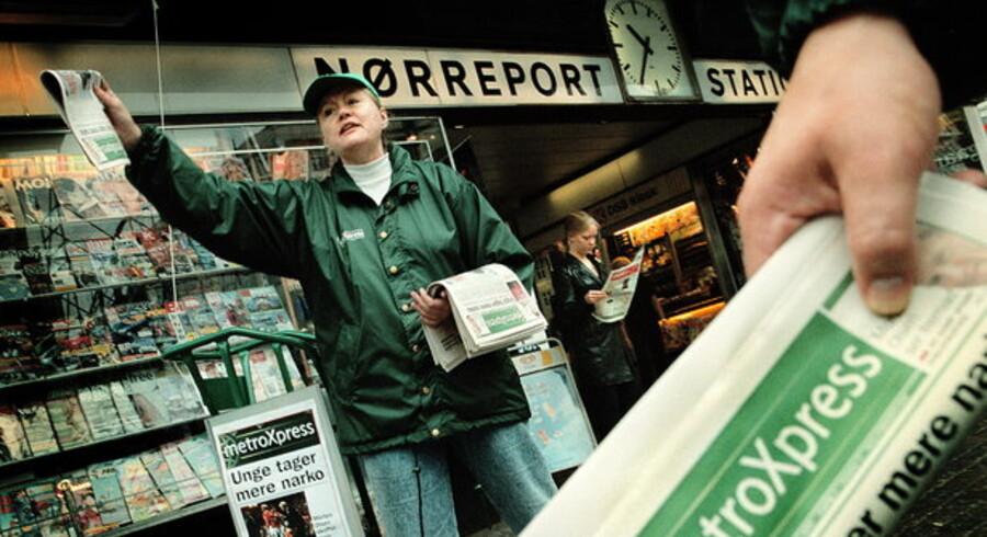 MetroXpress og 24timer får for første gang tildelt mediestørre, fordi det redaktionelle indhold nu udgør mere end halvdelen af avisen.