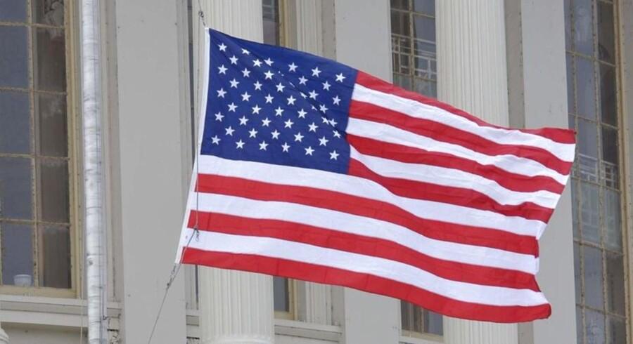 """The Star-Spangled Banner"" i USA's hovedstad Washington D.C."