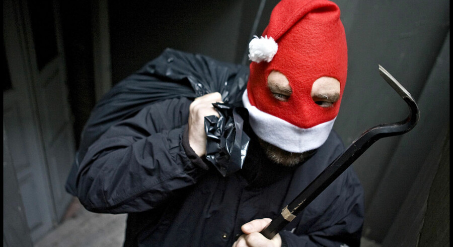 Modelfoto: Juleindbrudstyvene er klar igen i år.