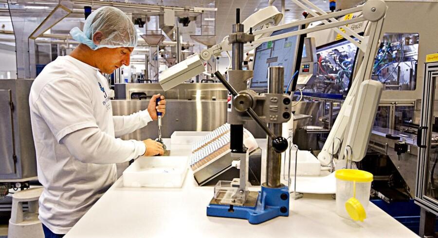 Novo Nordisk regnskab. Novo Nordisk fabrik i Hillerød hvor de producerer Victosa.