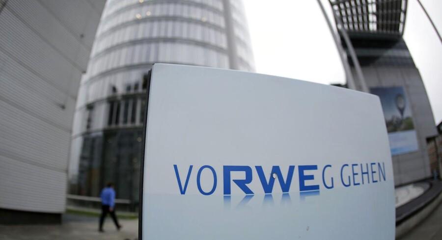 Det tyske energiselskab RWE skuffer med regnskabet for første kvartal.