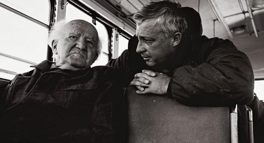 1971: Tidligere israelske premierminieter David Ben Gurion og Ariel Sharon.