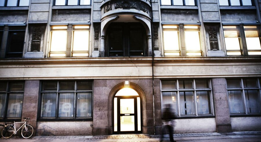 Jobcenteret i Farvergade 10 tæt på Københavns Rådhus.