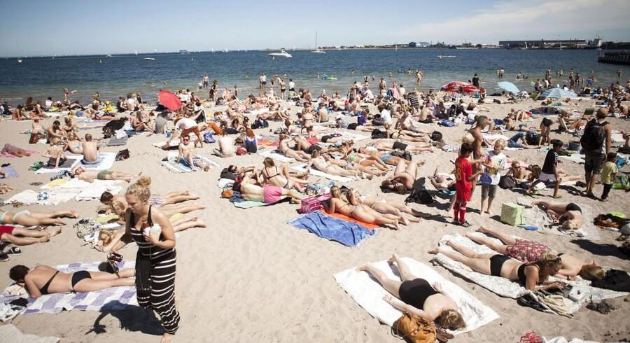 Svanemøllen er som et stykke fluepapir, og man skulle lede længe efter en plads til sit håndklæde på stranden.