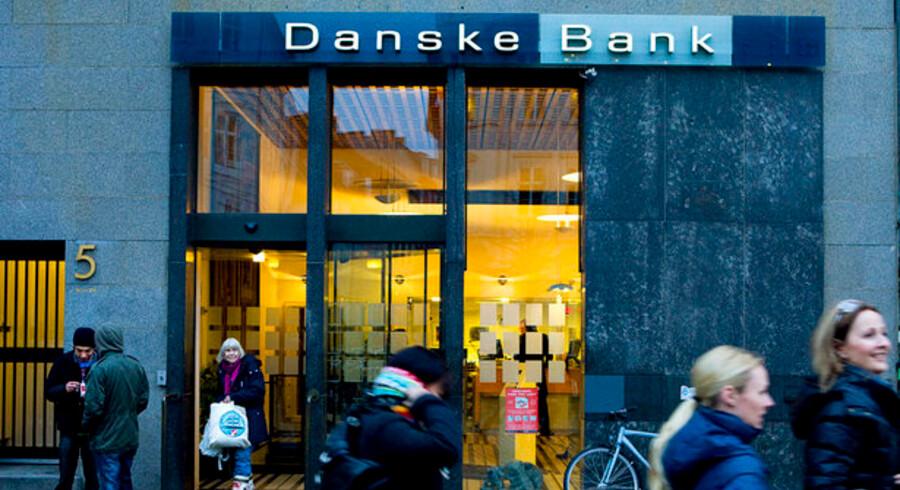 Ordet »sund« var gledet ud af den skriftlige oversættelse af Danske Bank-formandens tale til engelsk.