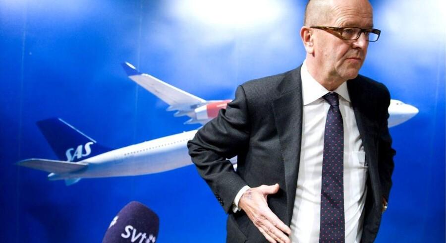 SAS' topchef gennem fire år, Mats Jansson, er færdig med topchefstillinger. Arkivfoto: Bertil Ericson, AFP/Scanpix