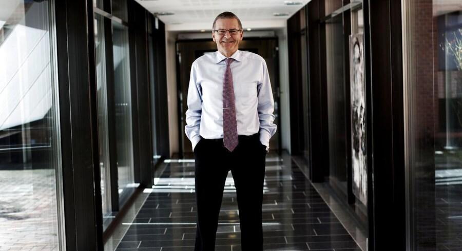Lars Rohde afløser Nils Bernstein som ny direktør for Nationalbanken.
