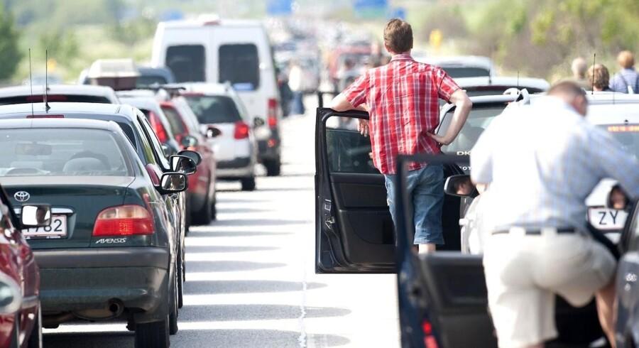 Tag afsted i god tid, hvis du skal på langfart i Kristi Himmelfarts-ferien. Trafikkøer ventes.