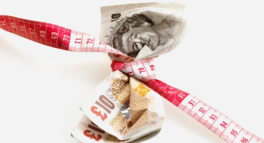 Et pund koster nu igen under otte kr., hvilket er tæt på bundrekorden lige før nytår.