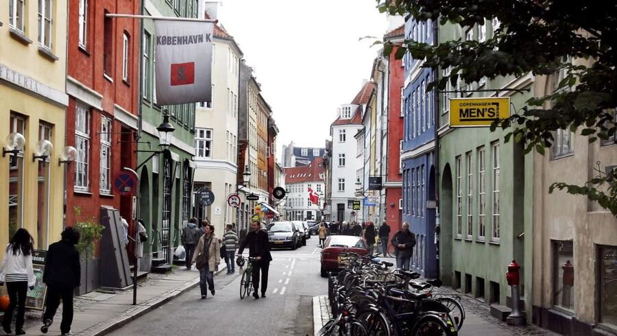 Teglgårdsstræde i ´Pisserenden ´ København K.