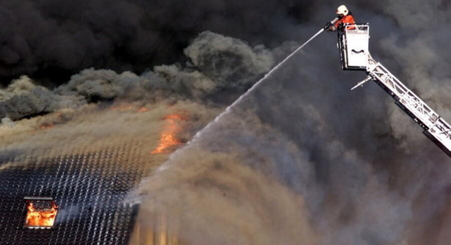 Voldsomme kræfter slippes løs, når ilden hærger. Det er mange danskere ikke forsikret imod.