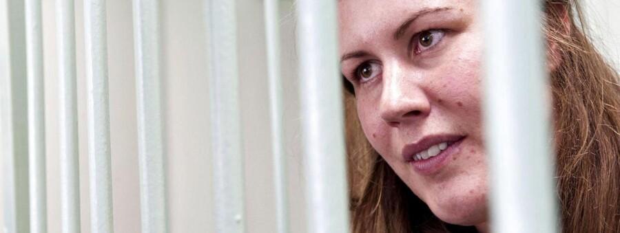 Den danske Greenpeace-aktivist Anne Mie Roer Jensen er fængslet i Rusland.