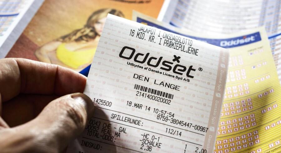 »Til glæde og gavn«, hedder det i reklamerne fra Danske Spil. Det er Forbrugerombudsmanden ikke tilfreds med.