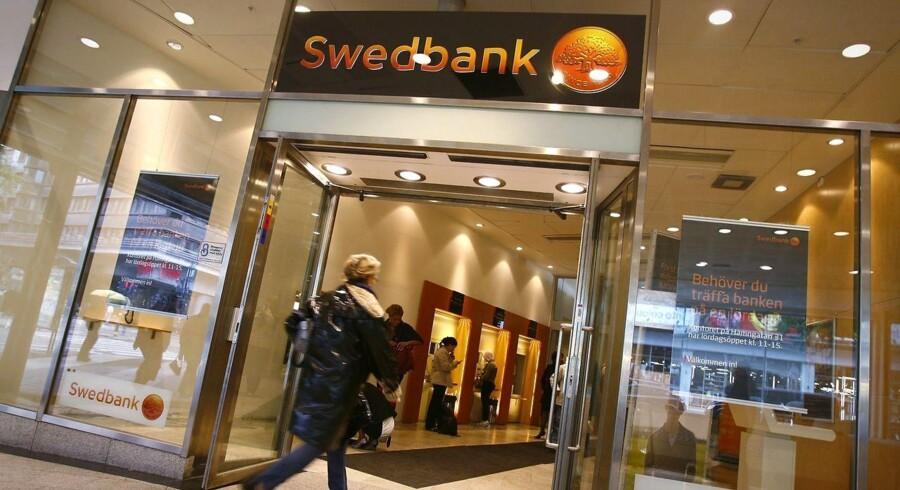 Det er markant billigere for svenske banker at låne penge, end det er for de danske.