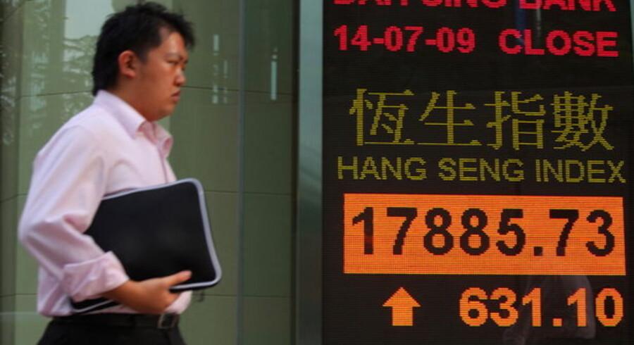 Kina er nu hjemland for verdens næststørste aktiemarked målt på den samlede markedsværdi af de børsnoterede aktier.