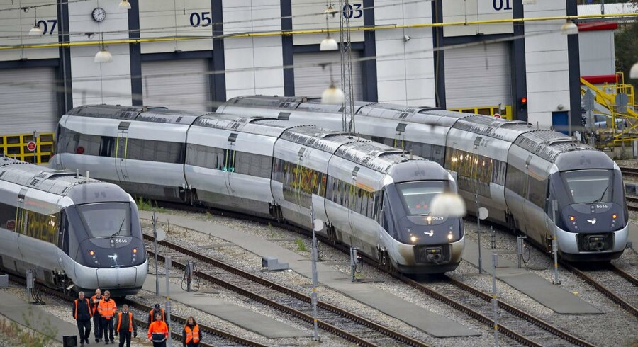 Nu kan - nogle - af IC 4-togene køre ud af remiserne.